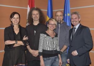 Gruppenphoto mit BM Dr. Sophie Karmasin